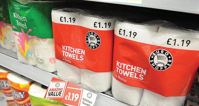 Happy Shopper kitchen towels