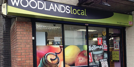 Woodlands local convenience store