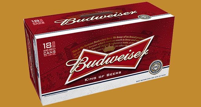Pack of Budweiser