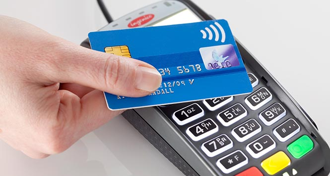 Paying by contactless card