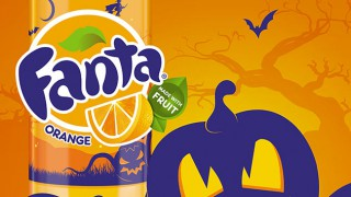 Fanta Halloween packaging