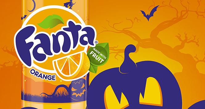 Fanta Halloween packaging