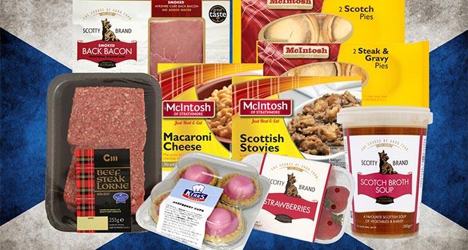 Fresh to Store's Scottish range