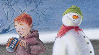 Irn-Bru's snowman