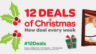 Spar's 12 Days of Christmas campaign