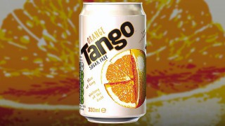 Can of Tango Orange sugar-free