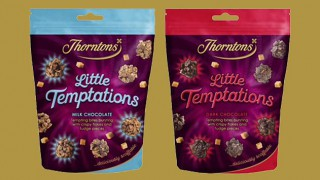 Thorntons Little Temptations sharing pouches