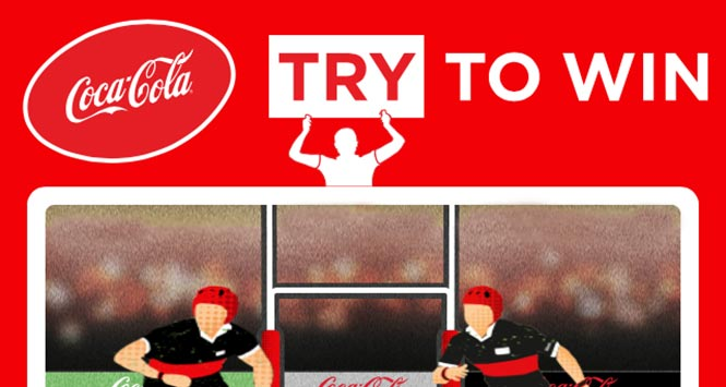 CCE's 'Try to win' promotion