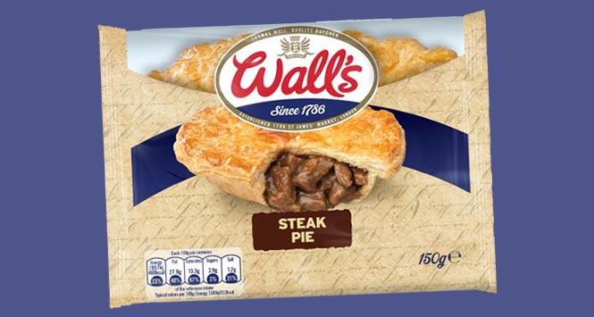 Wall's Steak Pie