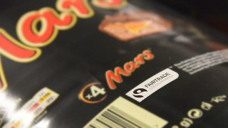 Fairtrade Mars Bar packaging