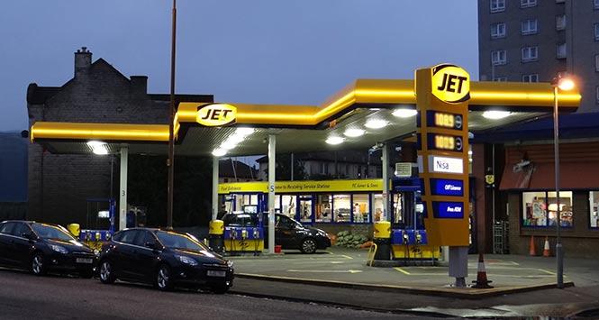 Jet's Restalrig petrol station