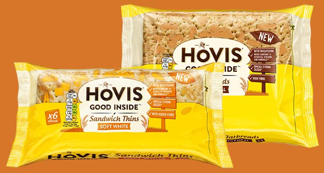 Hovis Good Inside Sandwich Thins and Flatbreads