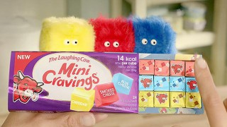 Mini Cravings puppets