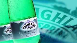 Bottle of Highland Spring