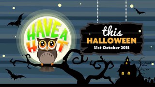 'Have a hoot this Halloween' promotional material