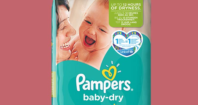 Pampers promotional pack