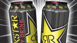 Rebranded Rockstar Original cans