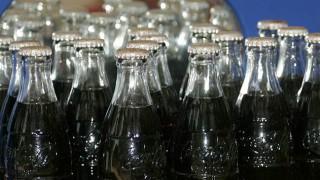 Bottles of Coke