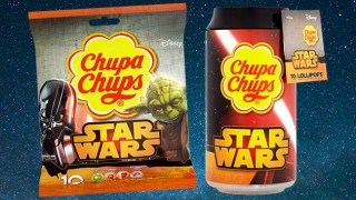 Star Wars-branded Chupa Chups