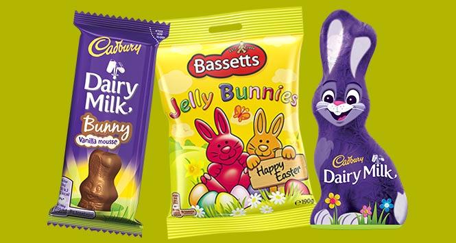 Cadbury Chocolate Bunnies