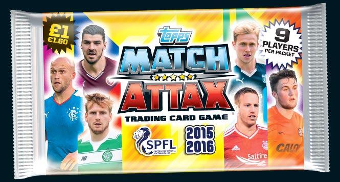 Packet of Match Attax