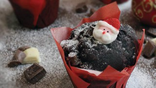 Christmas muffin