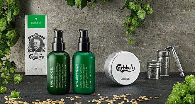Carlsberg male grooming range