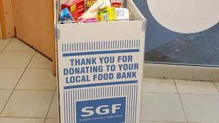 SGF foodbank donation point
