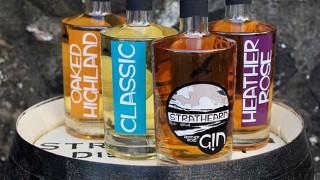 Strathearn Distillery's gin range