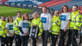 Scotmid-sponsored St Andrew's staff