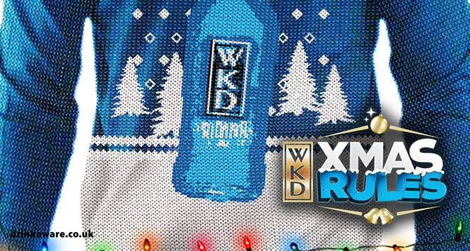 WKD Christmas jumper