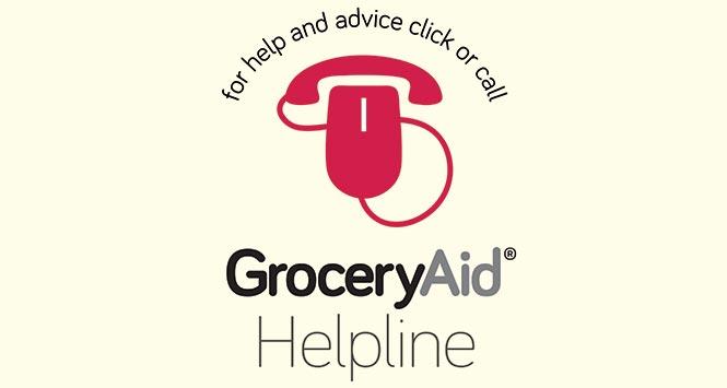 GroceryAid Helpline logo