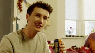 Boy drinking Irn-Bru