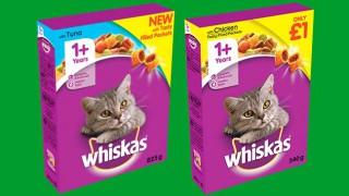 New Whiskas packs