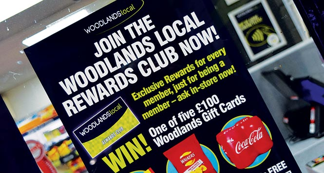 Join the Woodlands Local Rewards Club poster