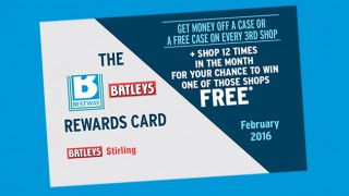 Bestway and Batleys Reward Card