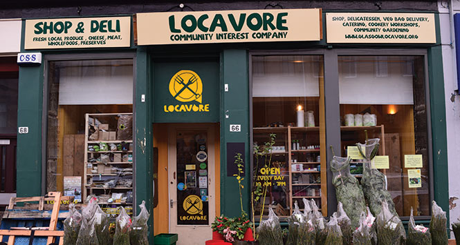 Locavore shop front