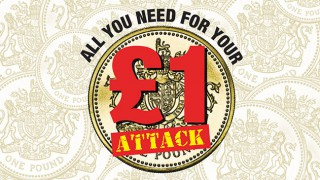 All you need for you £1 attack