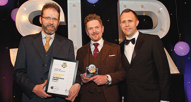 Good Spirits Co accepting award