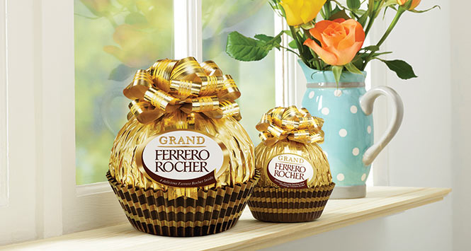 Giant Ferrero Rocher