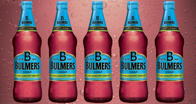 Bulmers blueberry cider