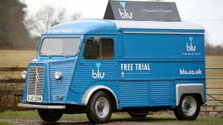 Blu ecigs promotional van