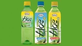 Grace Foods aloe vera drinks
