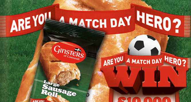 Ginsters sausage roll