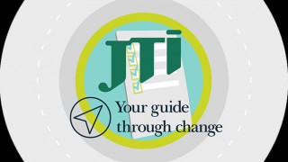 JTI's Your Guide Through Change logo