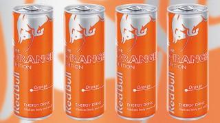 Red Bull Orange Edition