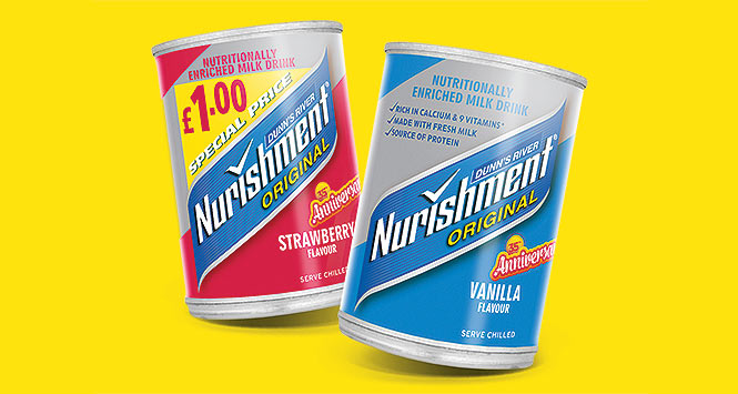 Nurishment limited edition 35th anniversary packs