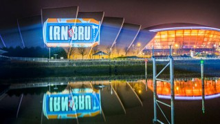 SSE Hydro with Irn-Bru projection