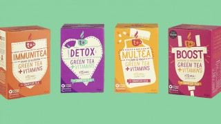 T plus range of Green Teas