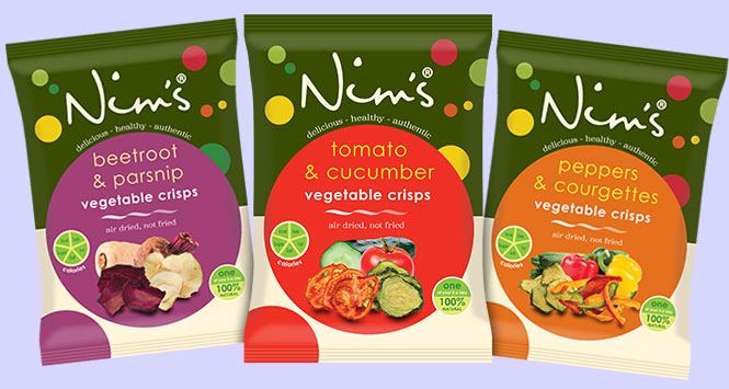 Nim's vegetable crisps